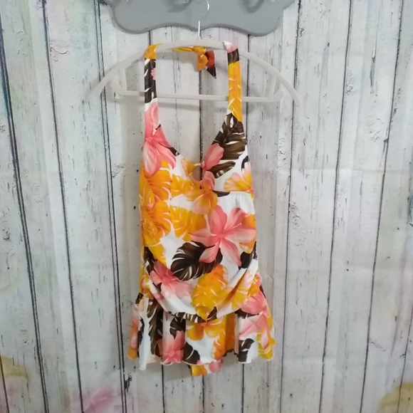 Fashion Bug Other - Tropical Skirted swimsuit size 8